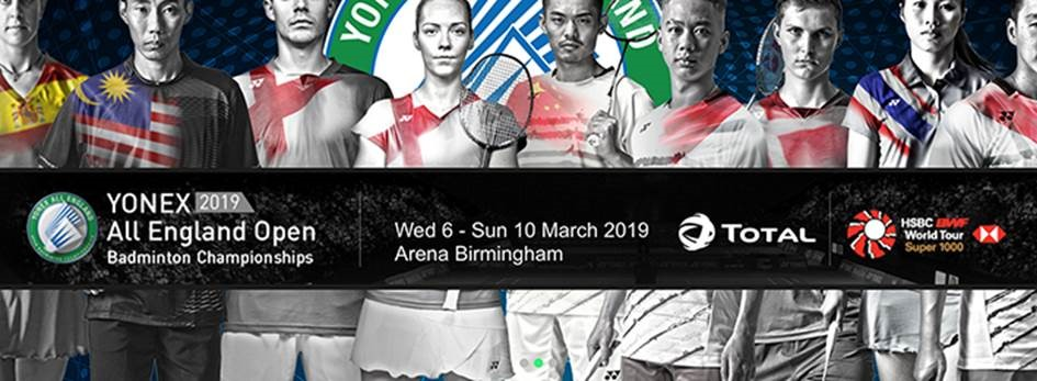 Your Guide To The Yonex All England Open Badminton Championships 2019 Total Uk