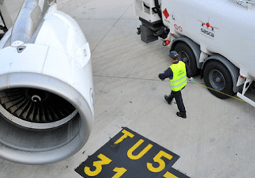 Total Aviation aircraft fuel logistics crew