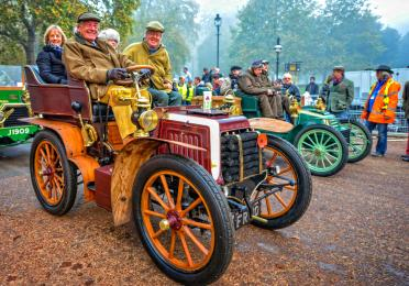 Brighton veteran car run