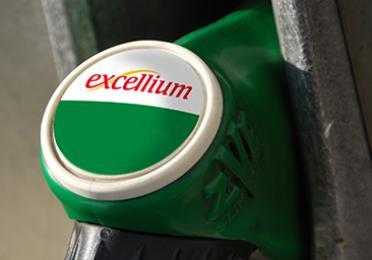 Excellium fuel on pump