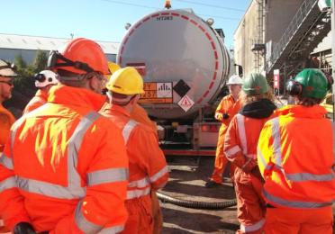 Total Bitumen Hanson Safety Week 2018