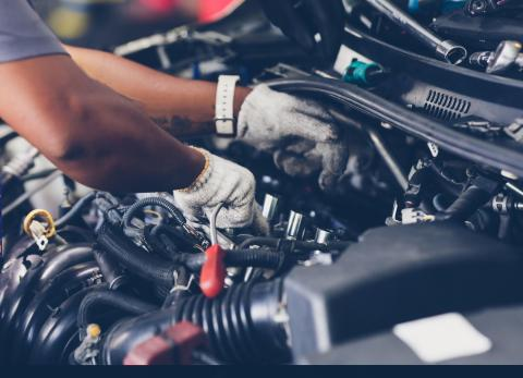 DIY car servicing hub