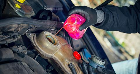 The choice of antifreeze and its ready-to-use, water-mixed form, engine coolant, differs between vehicles. Wondering which to use? This guide will help you find the correct fluid for your car.