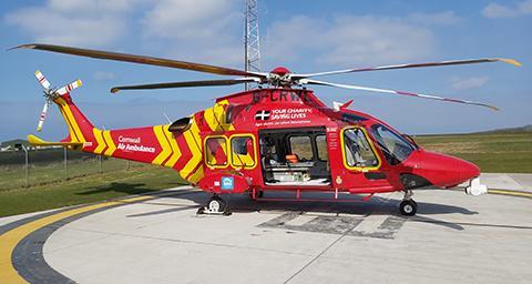 Cornwall Air Ambulance Trust Donation