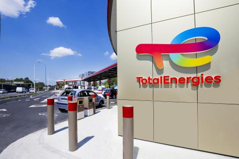 TotalEnergies service station
